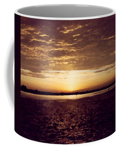 Sunset Coffee Mug featuring the photograph Sunset In Fl by Charleen Treasures