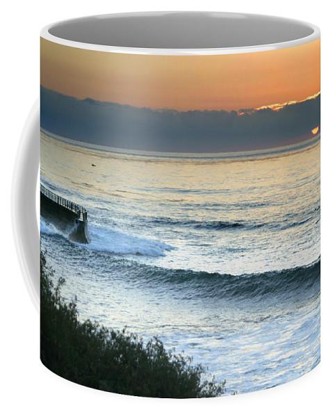 Sunset Coffee Mug featuring the photograph Sunset In La Jolla by Anthony Jones