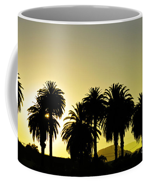 Clay Coffee Mug featuring the photograph Sunset In Socal by Clayton Bruster