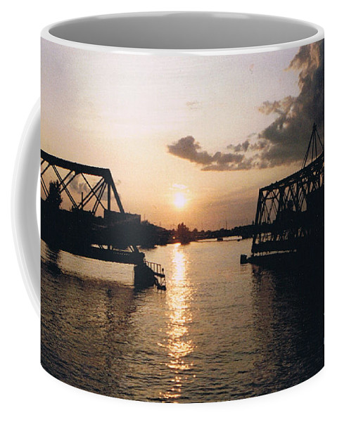 Superior Coffee Mug featuring the photograph Sunset In Superior Wi by Tommy Anderson