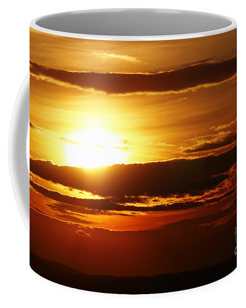 Sunset Coffee Mug featuring the photograph Sunset by Michal Boubin