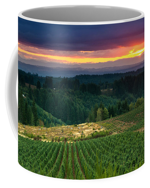 Oregon Coffee Mug featuring the photograph Sunset Over Central Oregon 4 by Greg Nyquist