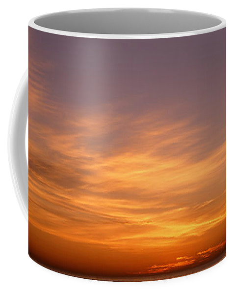 Photography Coffee Mug featuring the photograph Sunset Ovr Lake Michigan Chicago Il Usa by Panoramic Images