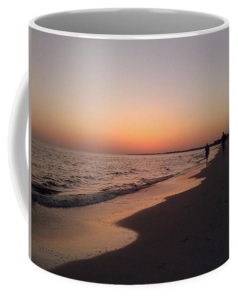 Sunset Coffee Mug featuring the photograph Sunset Run by Davis FlowerPower