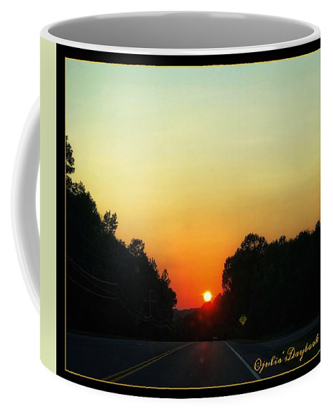 Sunset Coffee Mug featuring the photograph Sunset Spendor by Julia's Daybook