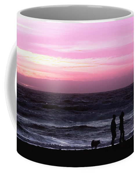 Nature Coffee Mug featuring the photograph Sunset Walk by John K Sampson