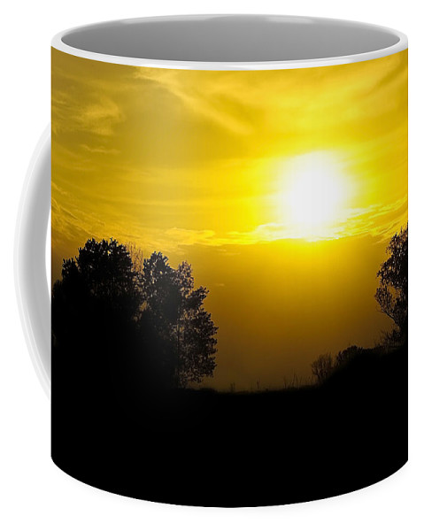 Black Coffee Mug featuring the photograph Sunset2 by Svetlana Sewell