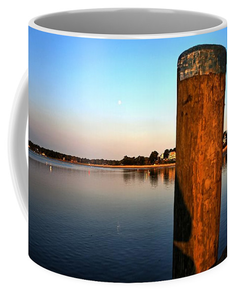 Cape Cod Coffee Mug featuring the photograph Sunshine On Onset Bay by Bruce Gannon