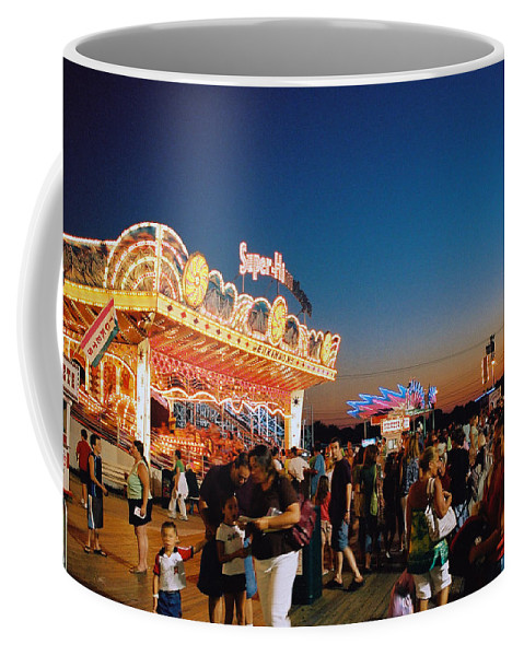 Board Walk Coffee Mug featuring the photograph Super Himalaya by Steve Karol