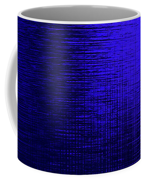 Abstract Coffee Mug featuring the digital art Supplication 4 by Gina Harrison