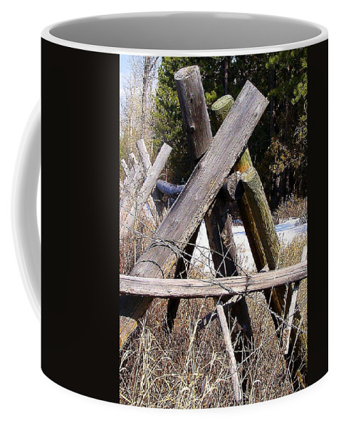 Support Coffee Mug featuring the photograph Support by Susan Kinney