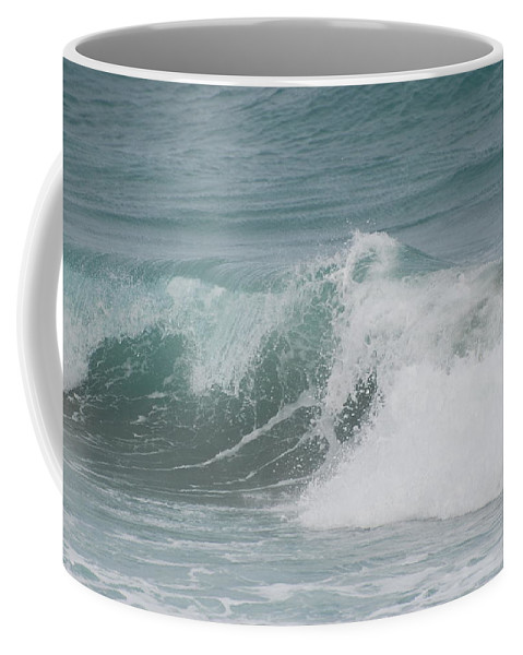 White Coffee Mug featuring the photograph Surf by Rob Hans