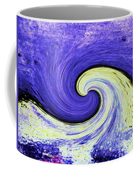 Surfs Up Coffee Mug featuring the photograph Surfs Up 3 by Tim Allen