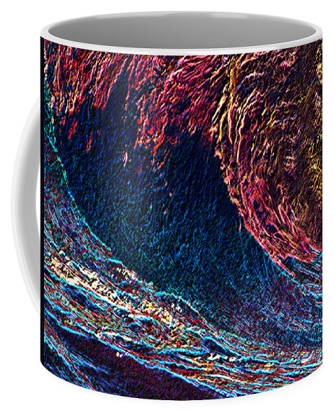 Surfs Up Coffee Mug featuring the photograph Surfs Up 4 by Tim Allen