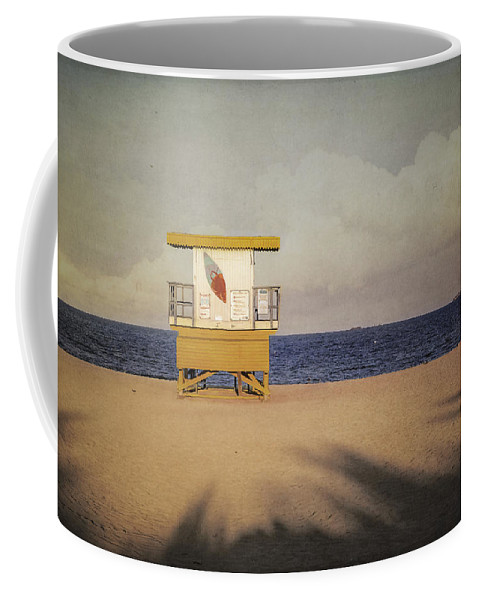 America Coffee Mug featuring the photograph Surf's Up W Textures by Eduard Moldoveanu