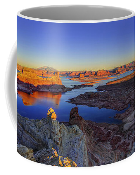 Nature Coffee Mug featuring the photograph Surreal Alstrom by Chad Dutson