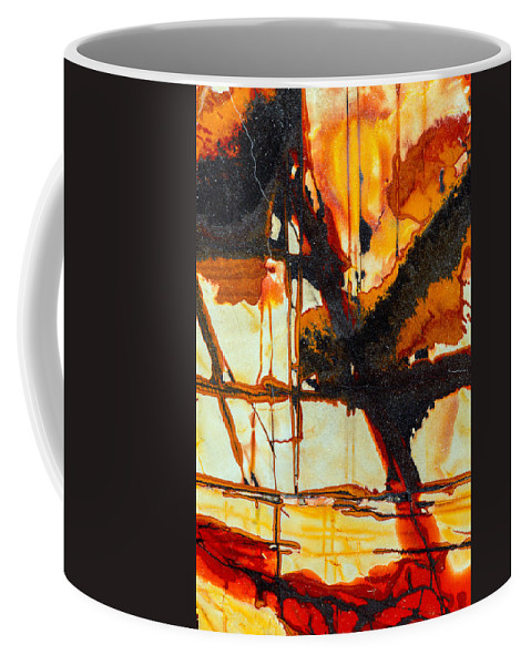 Macro Coffee Mug featuring the photograph Surrealism In Nature by Robert Storost