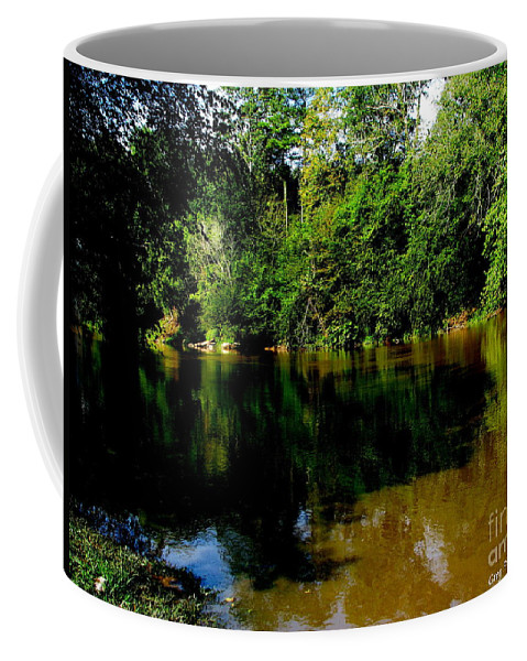 Patzer Coffee Mug featuring the photograph Suwannee River by Greg Patzer