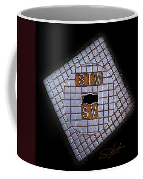 Diamond Coffee Mug featuring the photograph SV by Charles Stuart