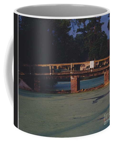 Bridge Coffee Mug featuring the photograph Swamp Bridge by Michelle Powell