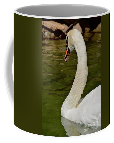 Swan Coffee Mug featuring the photograph Swan by Photos By Zulma