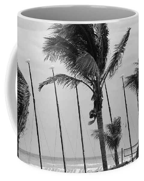 Black And White Coffee Mug featuring the photograph Sway by Rob Hans