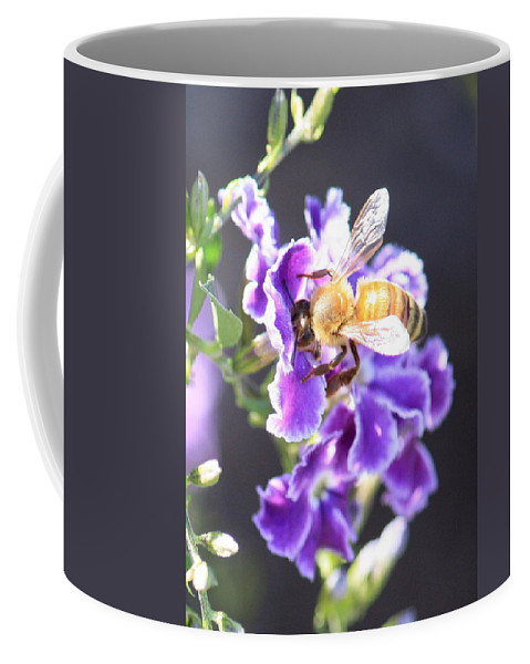 Bee Coffee Mug featuring the photograph Sweet Bee by Carol Groenen