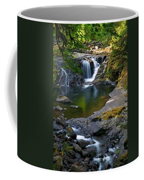 Creek Coffee Mug featuring the photograph Sweet Creek by Randall Ingalls