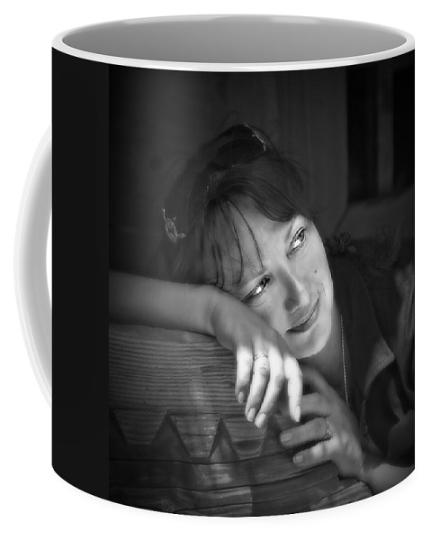 Portrait Coffee Mug featuring the photograph Sweet Memories by Evelina Kremsdorf