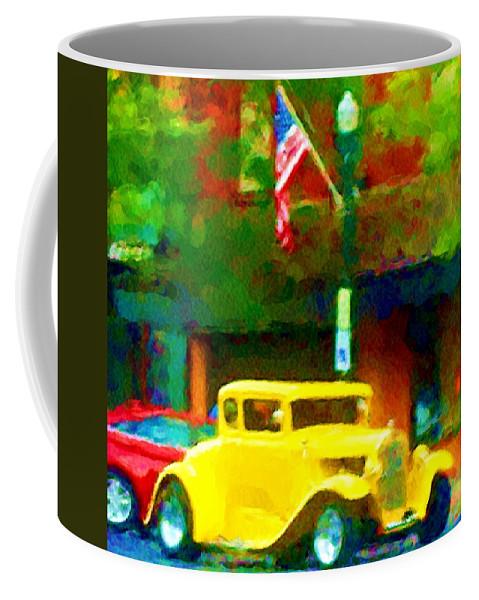 Hot Rod Coffee Mug featuring the photograph Sweet Ride by David Lane