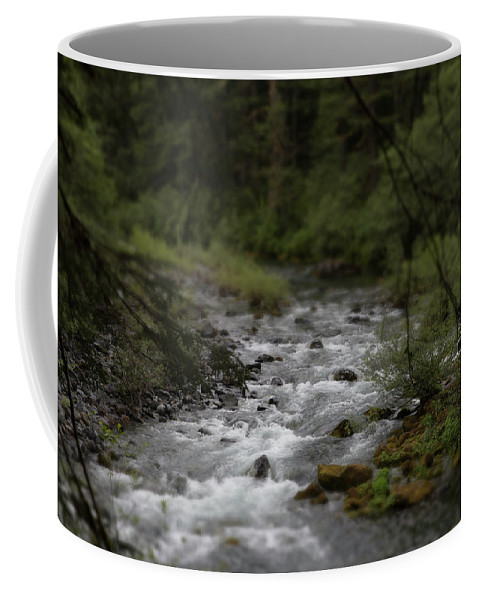 River Coffee Mug featuring the photograph Sweet Spot by Peter Ramirez