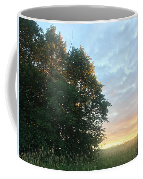 Sunset Coffee Mug featuring the photograph Sweet Sunset by Amy Lionheart