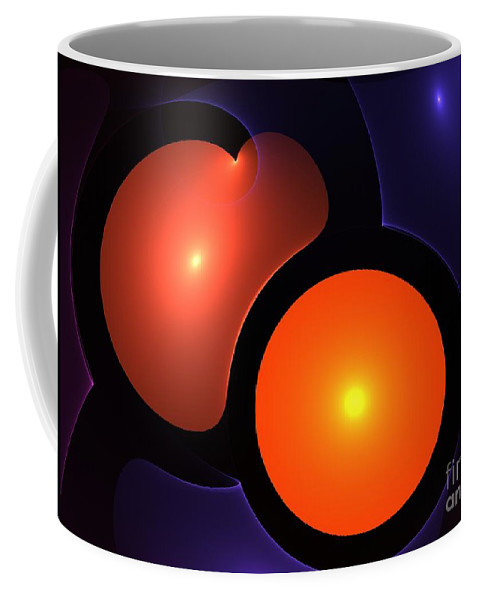 Heart Coffee Mug featuring the painting Sweetheart by Steve K