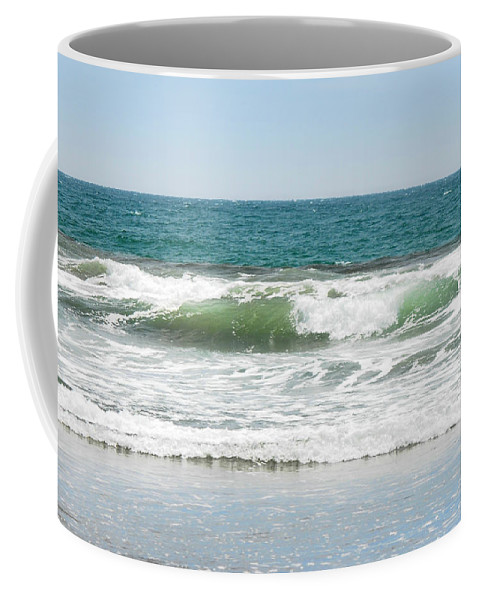 Ocean Coffee Mug featuring the photograph Swell by Donna Blackhall