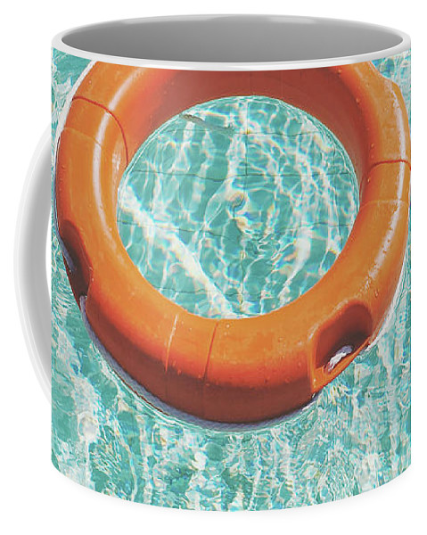 Water Coffee Mug featuring the photograph Swimming Pool III by Cassia Beck