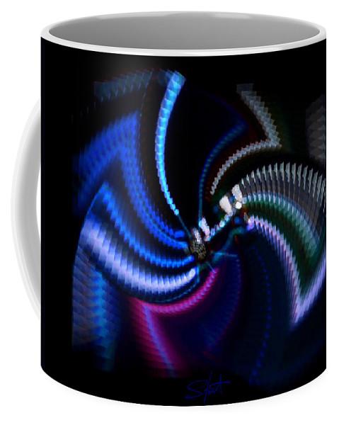 Chaos Coffee Mug featuring the photograph Swirlerator by Charles Stuart