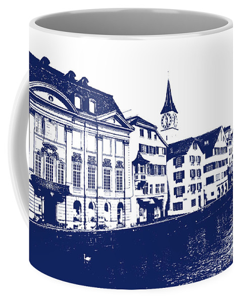 Switzerland Coffee Mug featuring the photograph Swiss City by Lali Kacharava