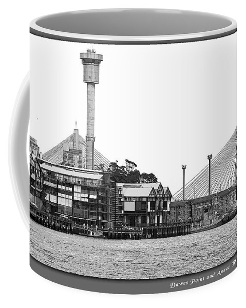 Landscapes Coffee Mug featuring the photograph Sydney Contrasts by Holly Kempe