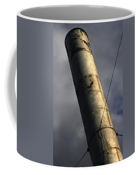 Smoke Coffee Mug featuring the photograph Symbol Of Progress by Jeffery Ball