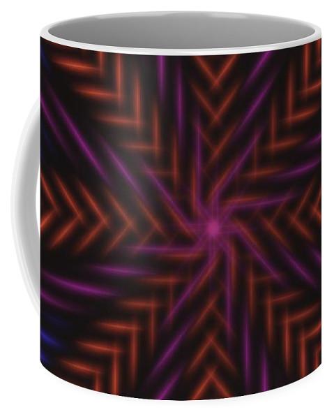 Symmetry Coffee Mug featuring the digital art Symmetry 15 by David G Paul