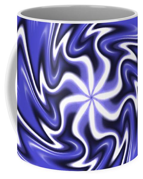 Symmetry Coffee Mug featuring the digital art Symmetry 19 by David G Paul