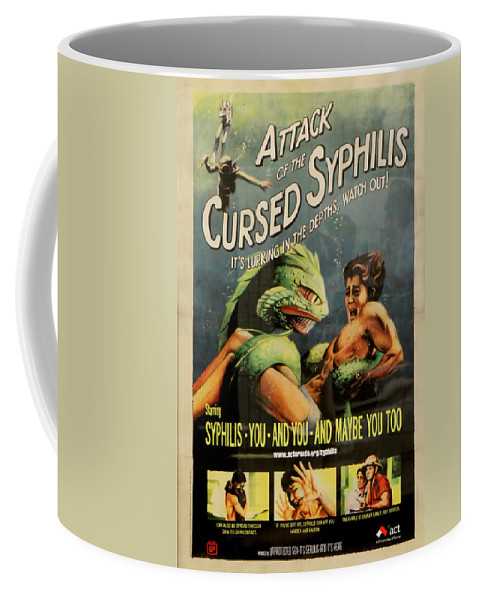 Disease Coffee Mug featuring the photograph Syphilis Poster by Andrew Fare