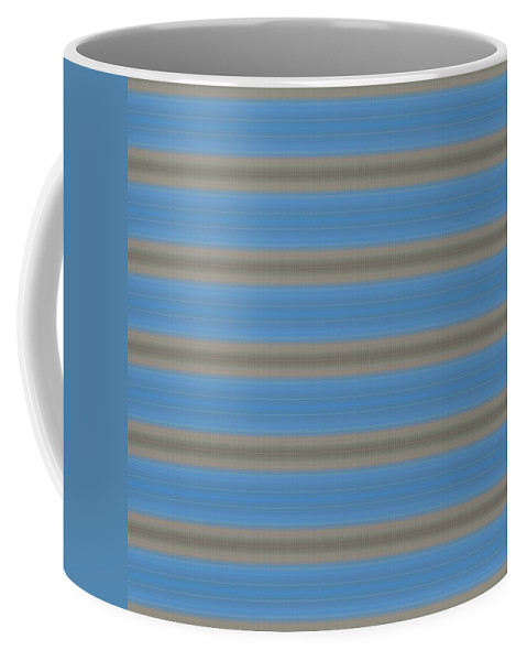 Blue Coffee Mug featuring the digital art T J O D X X X Compilation 88 To 1 by Helena Tiainen