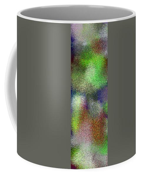 Abstract Coffee Mug featuring the digital art T.1.1092.69.1x3.1706x5120 by Gareth Lewis