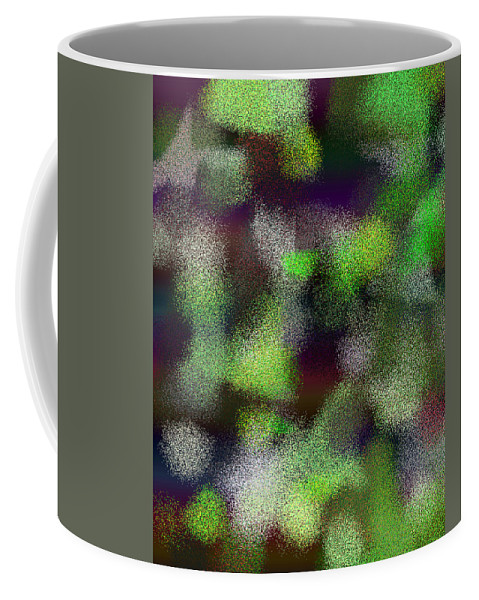 Abstract Coffee Mug featuring the digital art T.1.620.39.4x5.4096x5120 by Gareth Lewis