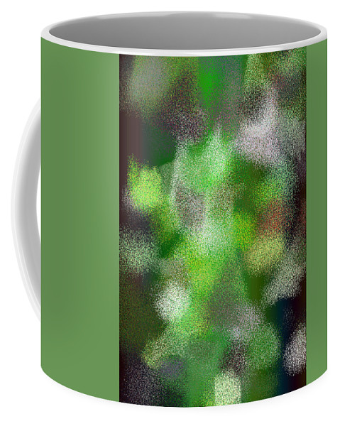 Abstract Coffee Mug featuring the digital art T.1.622.39.5x7.3657x5120 by Gareth Lewis
