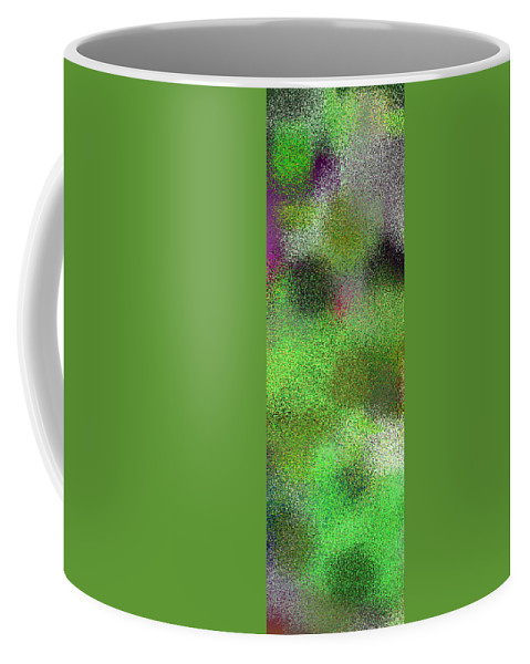Abstract Coffee Mug featuring the digital art T.1.628.40.1x3.1706x5120 by Gareth Lewis