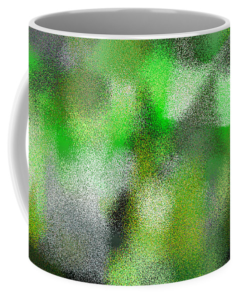 Abstract Coffee Mug featuring the digital art T.1.635.40.5x3.5120x3072 by Gareth Lewis