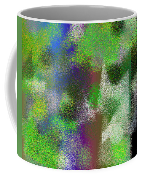 Abstract Coffee Mug featuring the digital art T.1.637.40.5x4.5120x4096 by Gareth Lewis