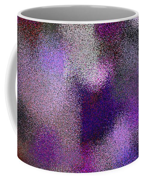 Abstract Coffee Mug featuring the digital art T.1.723.46.2x1.5120x2560 by Gareth Lewis